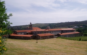 Panorámica do monasterio